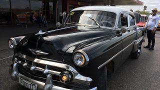 Genuine Cuba taxi
